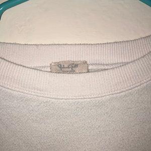 Brandy Melville Jackets & Coats - Brandy Melville white crew neck